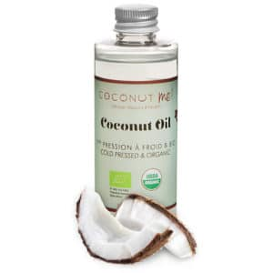 Organic Virgin Coconut oil<br><h5>Bottle 3,38 oz</h5>